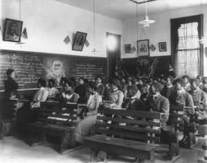 19th century history class @ Tuskegee Institute
