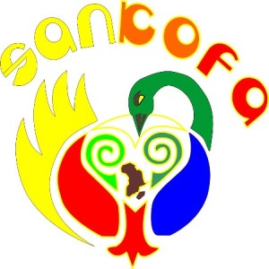 Sankofa design from Kiarablu